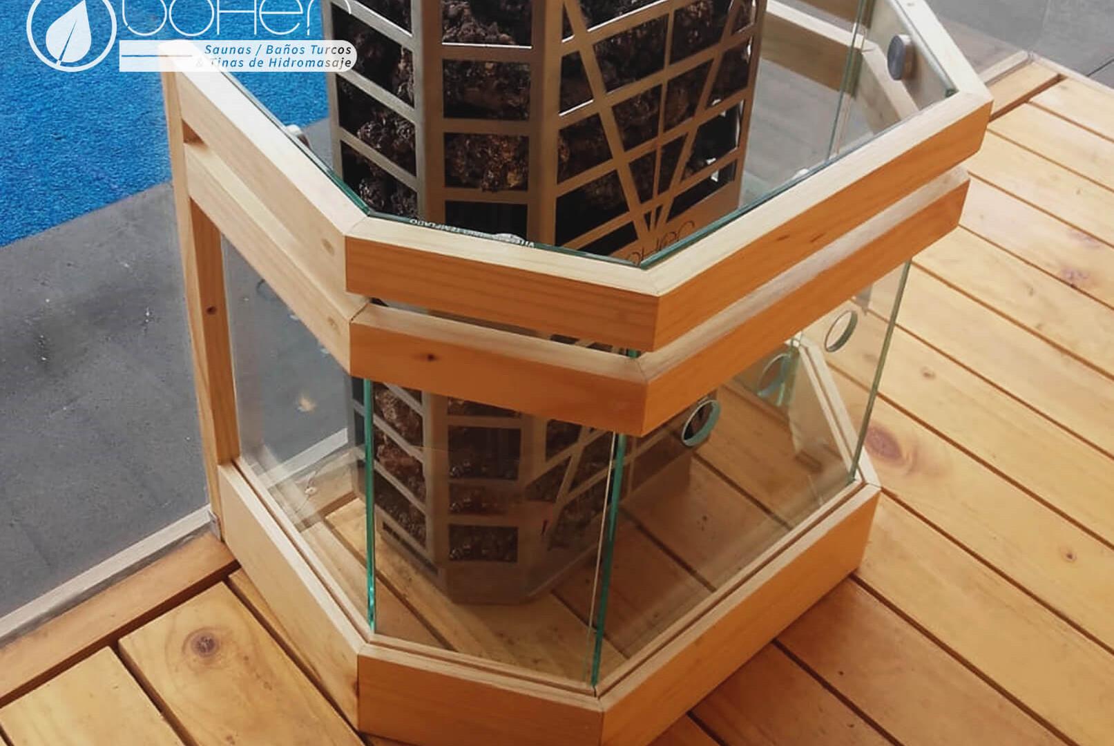 Corral protector para Generador de Calor de Sauna