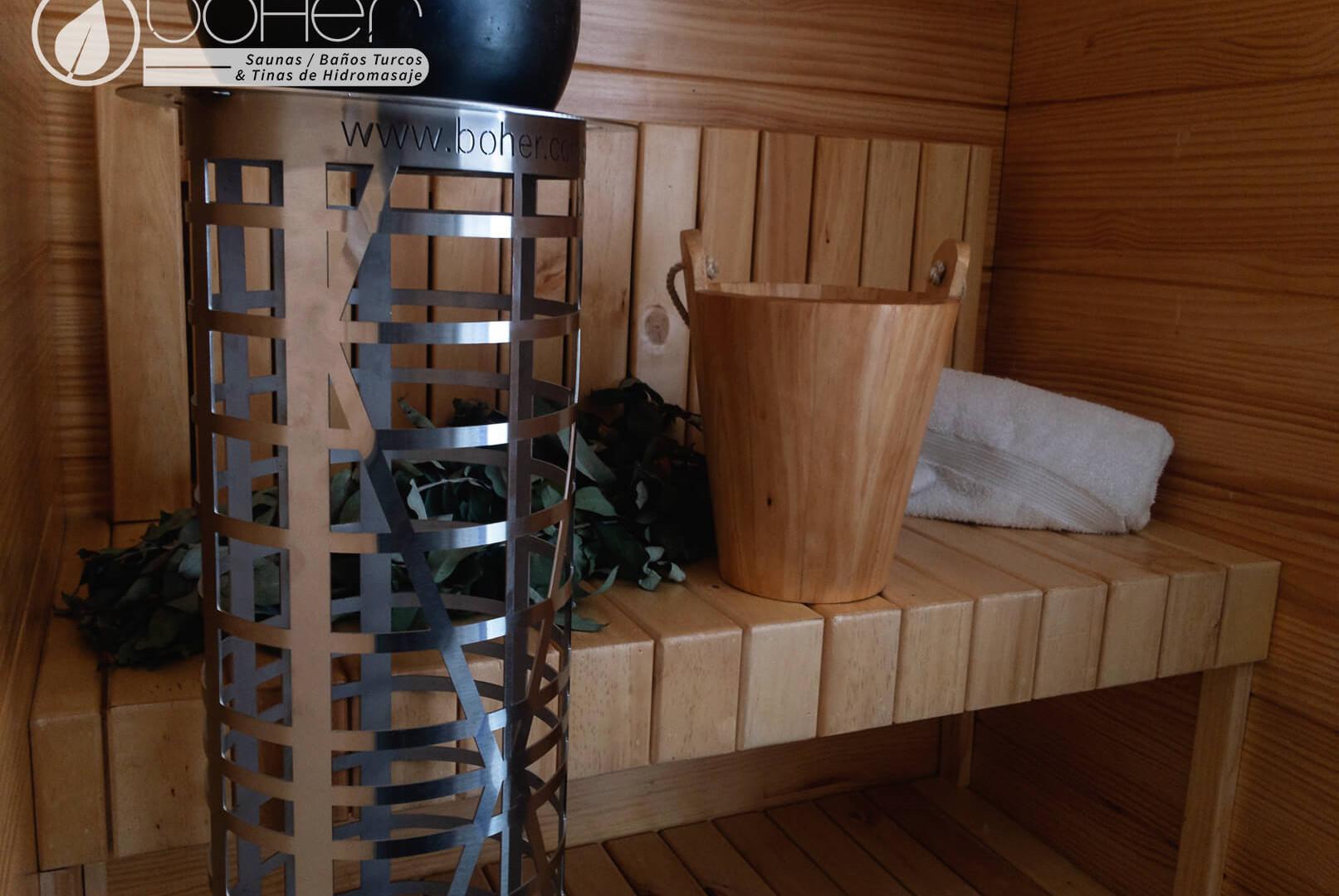 Generador de calor Eléctrico para Sauna Dekor