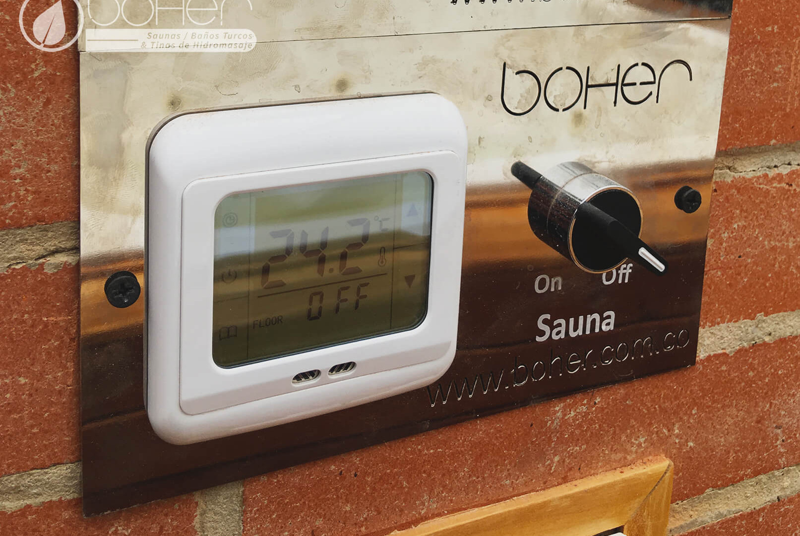 Sistema de Control para Saunas