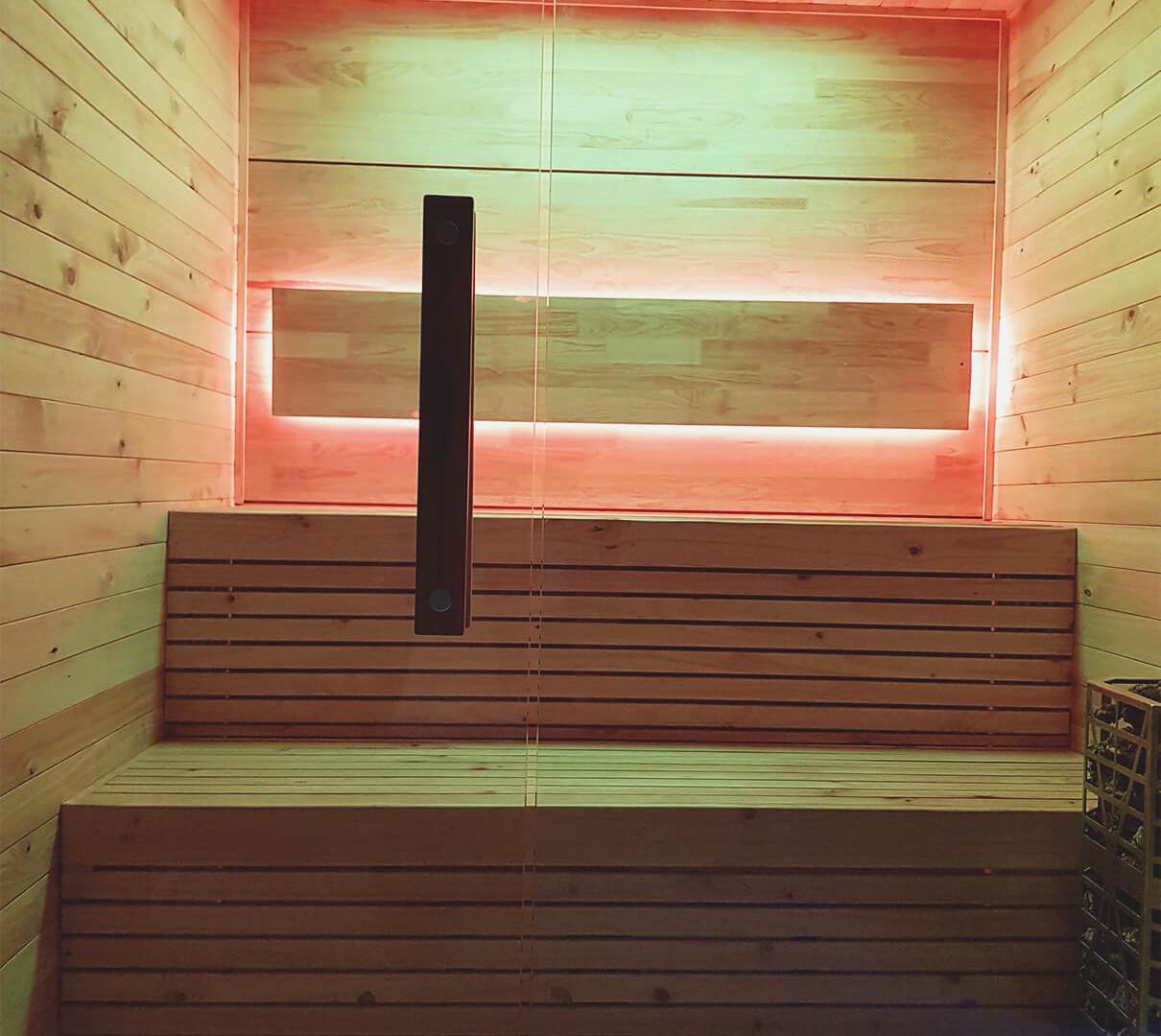 Sauna Portátil Línea Slice