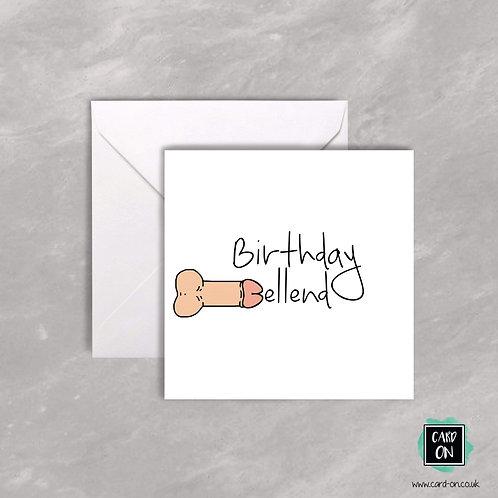 Birthday Bellend