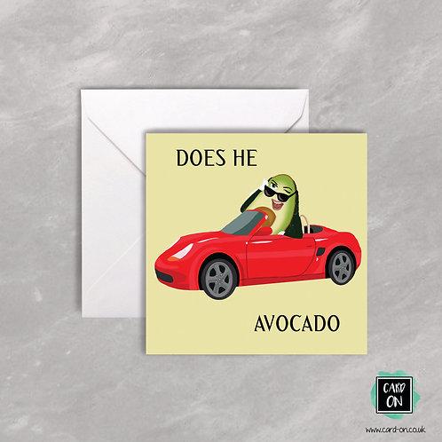 Does He Avocardo