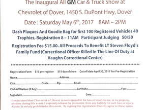The Inaugural All GM Car & Truck Show at Chevrolet of Dover Saturday May 6th