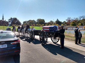 Interment of Phil McGuire