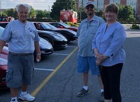 Gathering of Corvettes