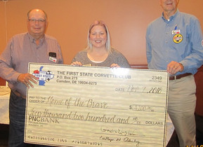 Donation to Home of the Brave