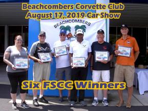 Beachcombers Car Show Winners