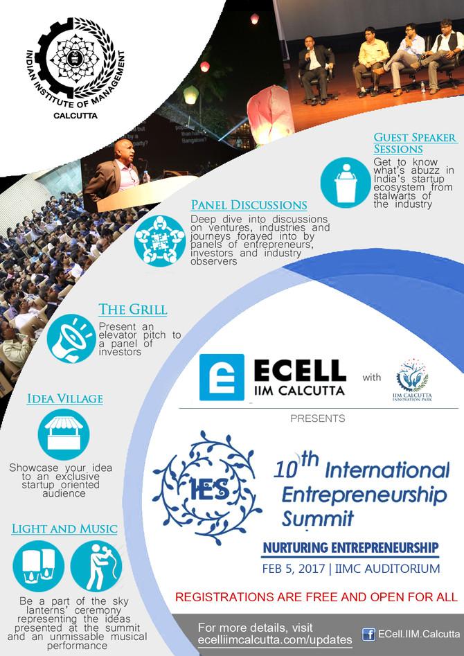 10th INTERNATIONAL ENTREPRENEURSHIP SUMMIT (E-SUMMIT 2017)