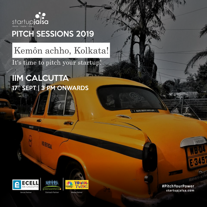 StartUp Jalsa | Pitch Sessions 2019