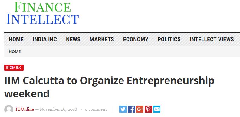 http://financeintellect.com/home-page/home/iim-calcutta-to-organize-entrepreneurship-weekend/