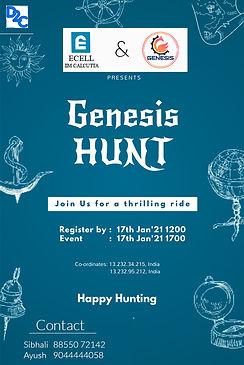 Copy of Treasure Hunt Orientation Flyer