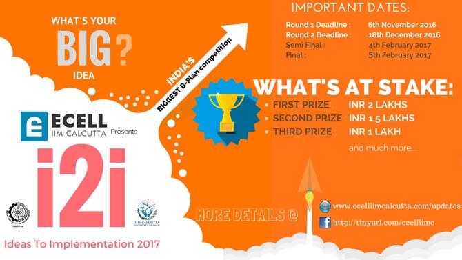 IDEAS TO IMPLEMENTATION (i2i) 2017