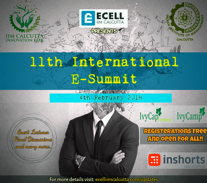 11th INTERNATIONAL ENTREPRENEURSHIP SUMMIT (E-SUMMIT 2018)