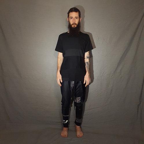 camiseta preta m