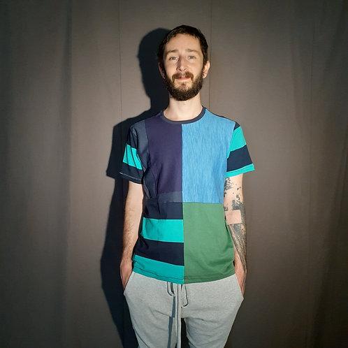 camiseta divisão celular Azul (3/4)