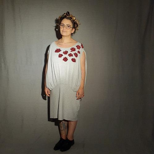 Vestido Fértil Regata bordado