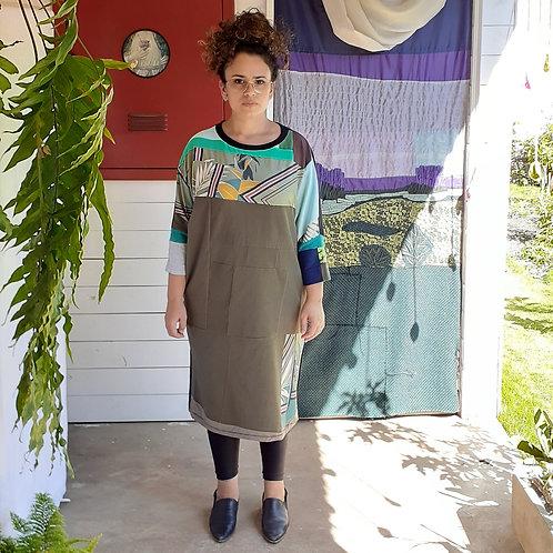vestido Malu composições