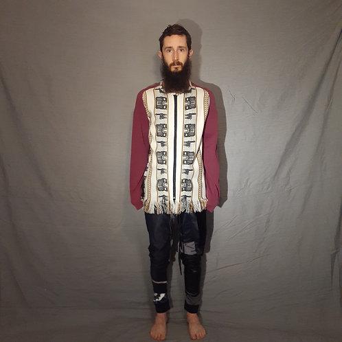 Casaco de lã boliviana