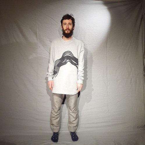 Camisa de moletom Pincelada
