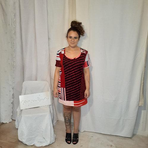 Vestido camiseta profusão