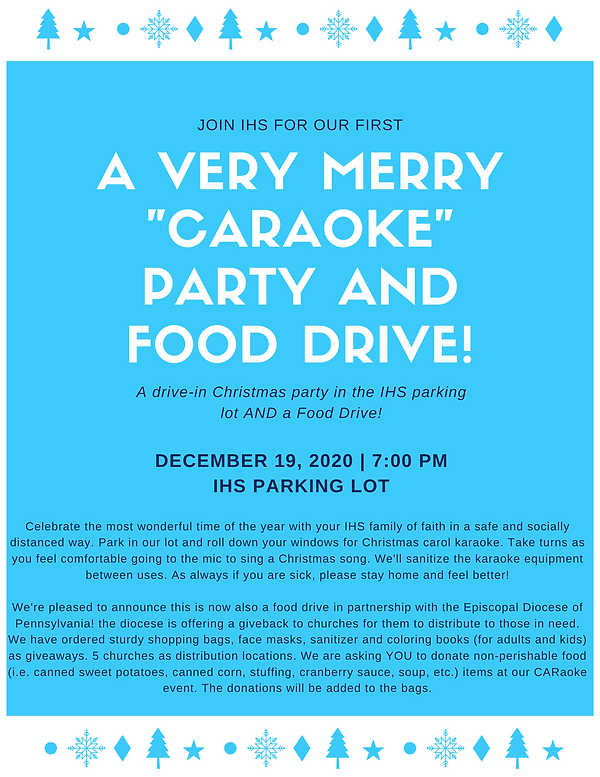 Caraoke and Food Drive Flyer.png