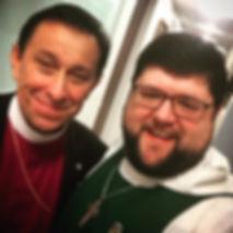 Fr. Benjamin Gilda and Bishop Daniel Gutierrez