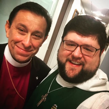 Fr. Benjamin Gilda and Bishop Daniel Gutierrez