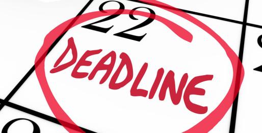 Word of the Week- Deadline