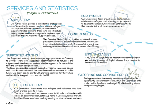 Page 4- Services and Statistics