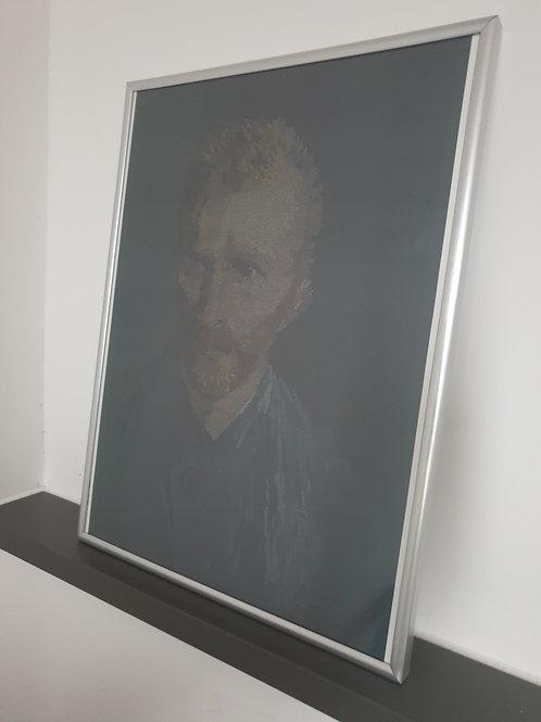 Vincent Van Gogh Typographic