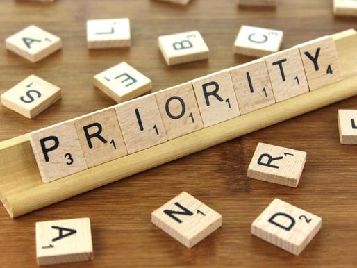 Word of the Week- Priority