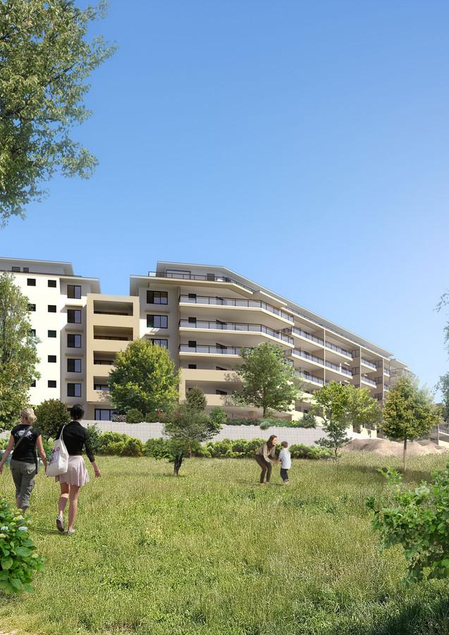 3D extérieure - programme Immobilier à Tahiti - 2018 par Bureau des Perspectives 3D