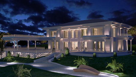 3D extérieure - Villa neuf à Roquebrune