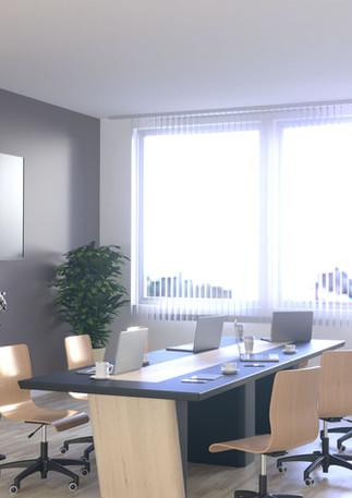 3D intérieure - Rénovation salle brefing à Nice (06) - 2019 par Bureau des Perspectives 3D