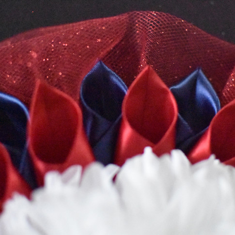 Tulle Ruffle - Red
