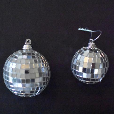 Silver Disco Balls