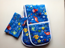 Under the Sea Toy Oven Gloves