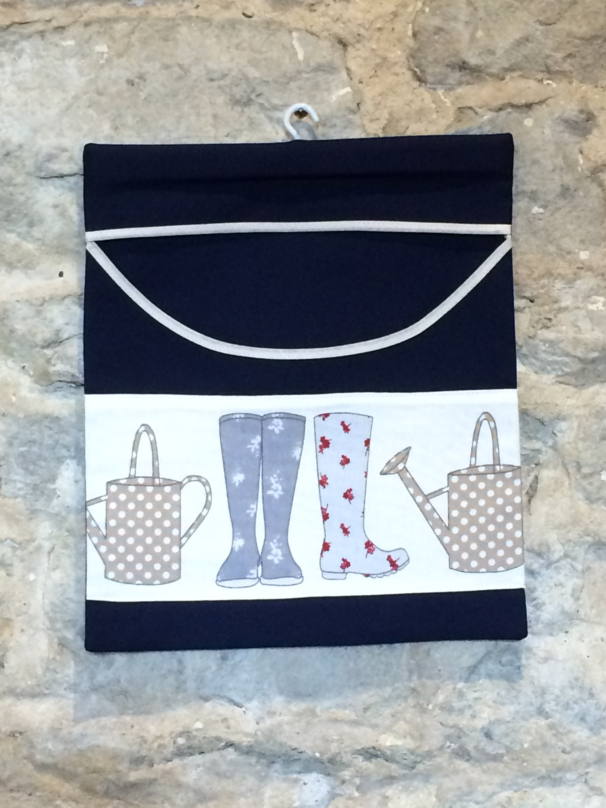 Wellies & Watering Cans Peg Bag
