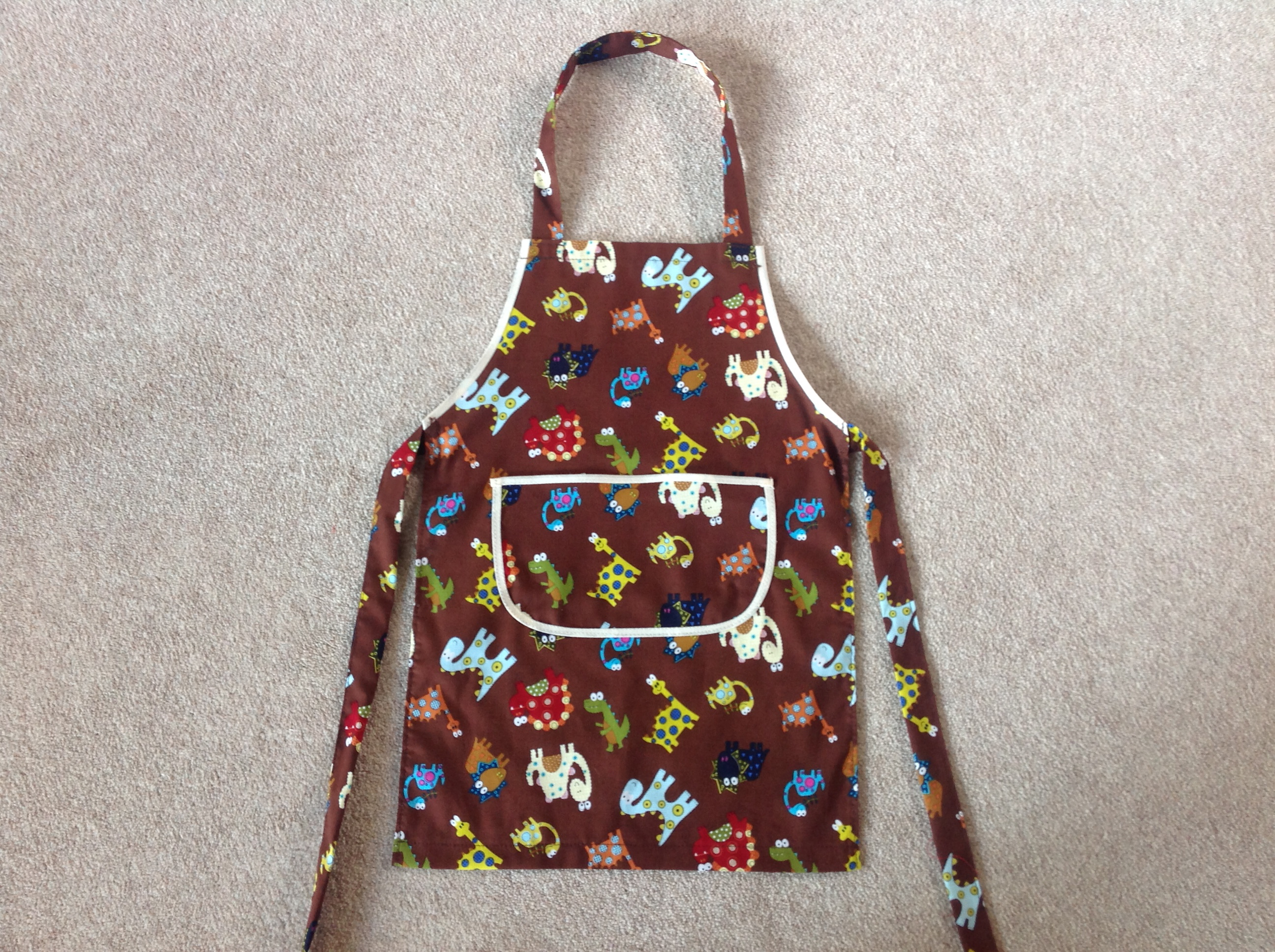 Childs Dinosaur Apron