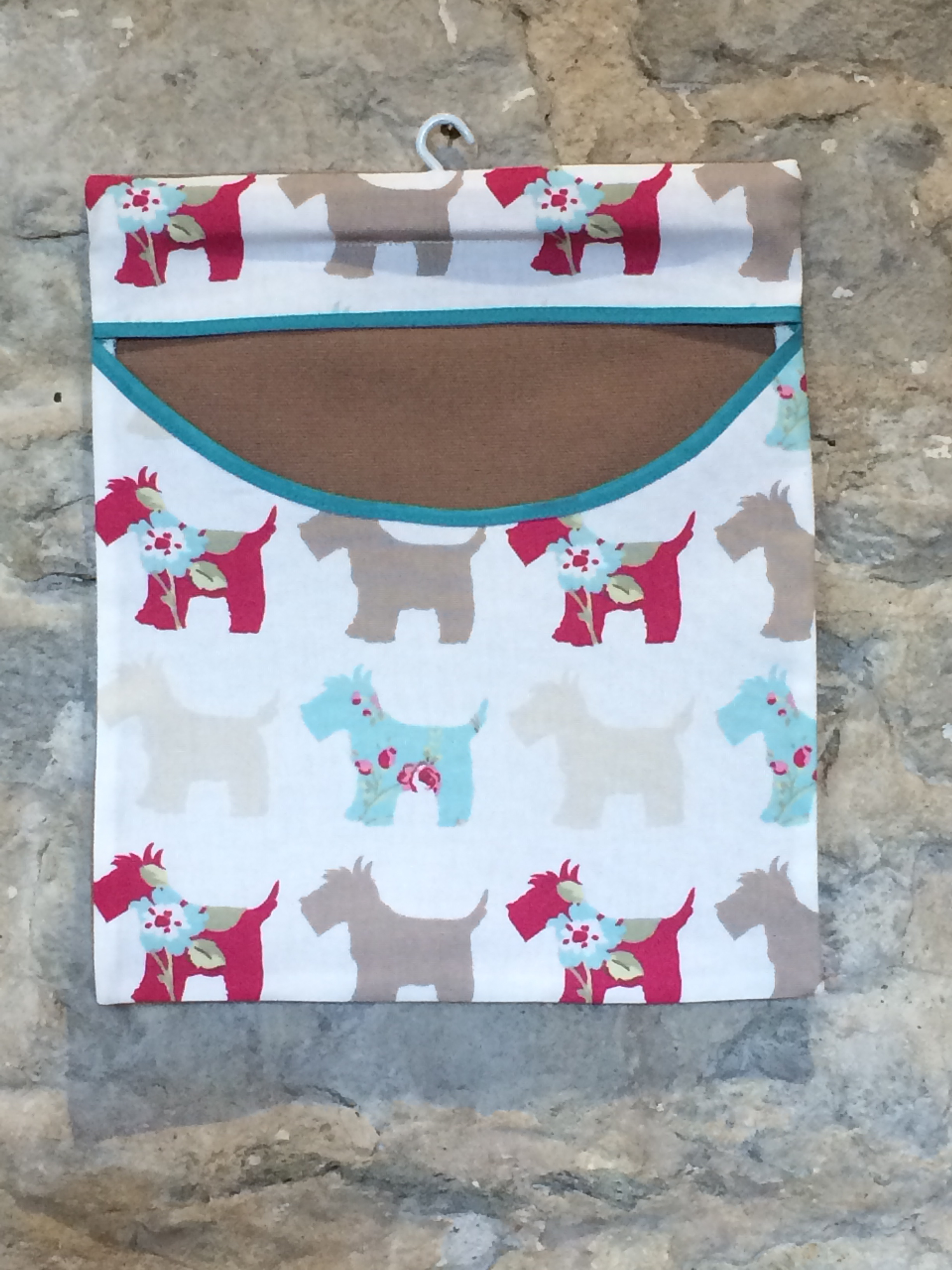 Scottie Dog Peg Bag