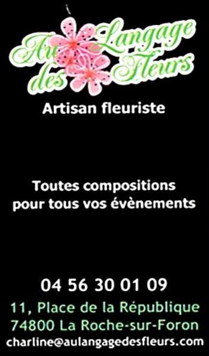 Aux languages des fleurs