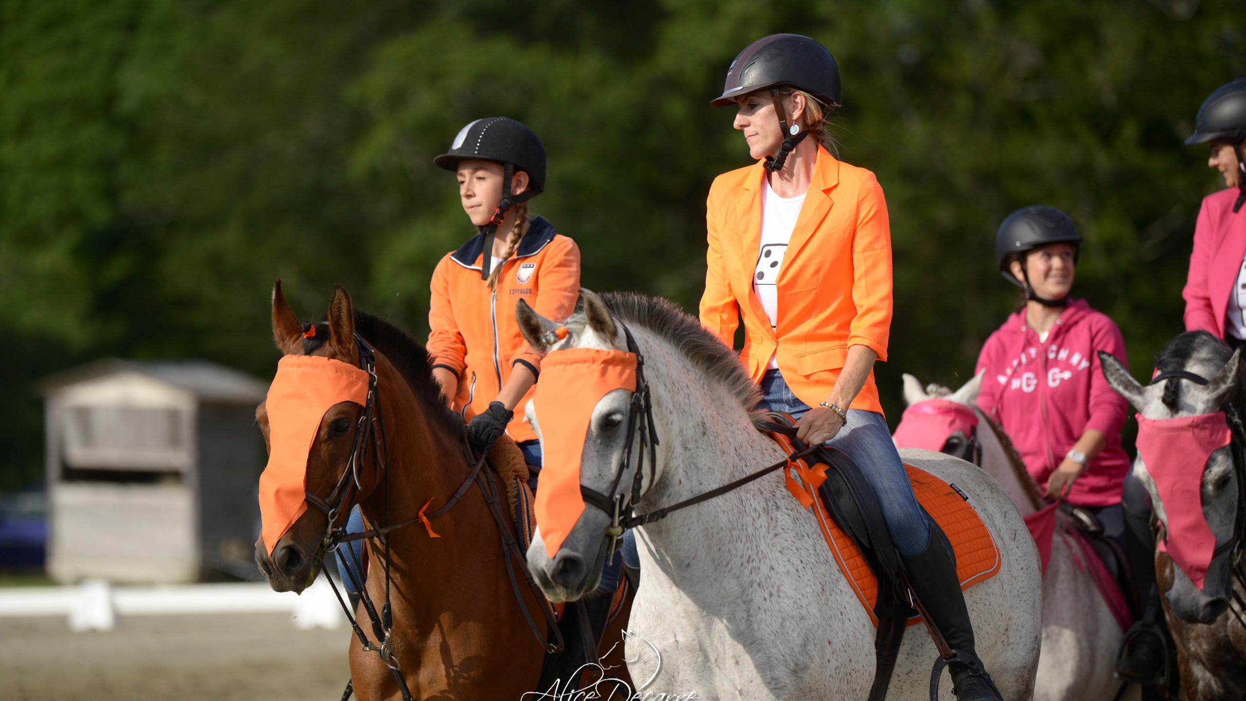 Les oranges, Sophie et Lucy
