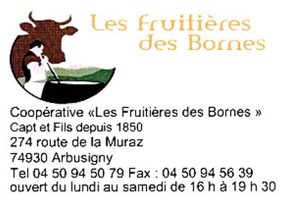 La fruitière des Bornes