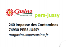 Casino supermarché de Pers-Jussy
