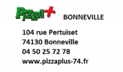 Pizza plus Bonneville