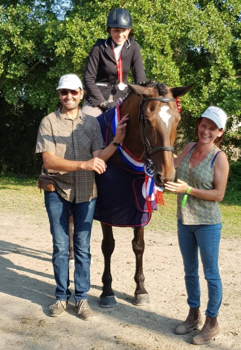 Championne de France de Hunter Club 2