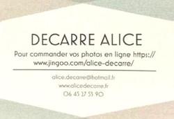 Alice DECARRE photographie