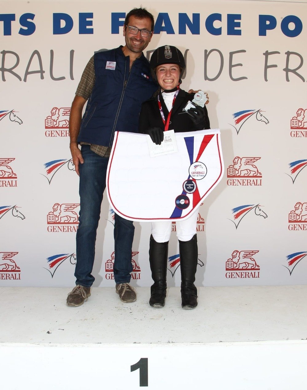 Championne de France de Dressage Club 2