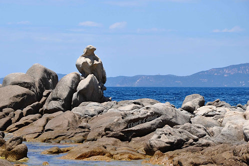 Rocher Campomoro (Corse)