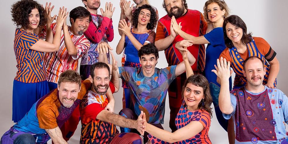Barbatuques em Lisboa - CANCELADO!!!! Este show será transferido para o dia 08/11/2020
